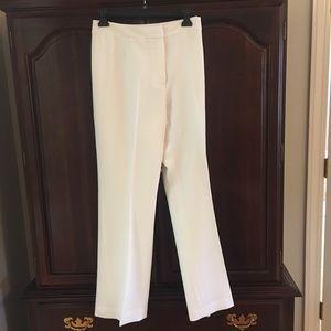 Kasper white dress pants - worn once!